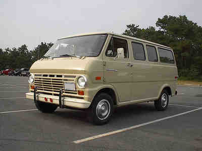 1970 Ford E-100 - not ours!