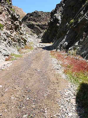 Into Goler Wash – 04/16/2005
