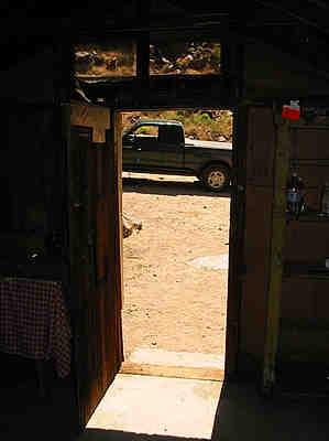 Newman Cabin interior - 04/16/2005