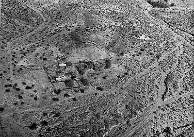 Barker Ranch- old aerial view, maybe surveillance photo.