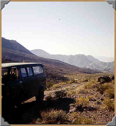 Approaching Mengel Pass - 1976
